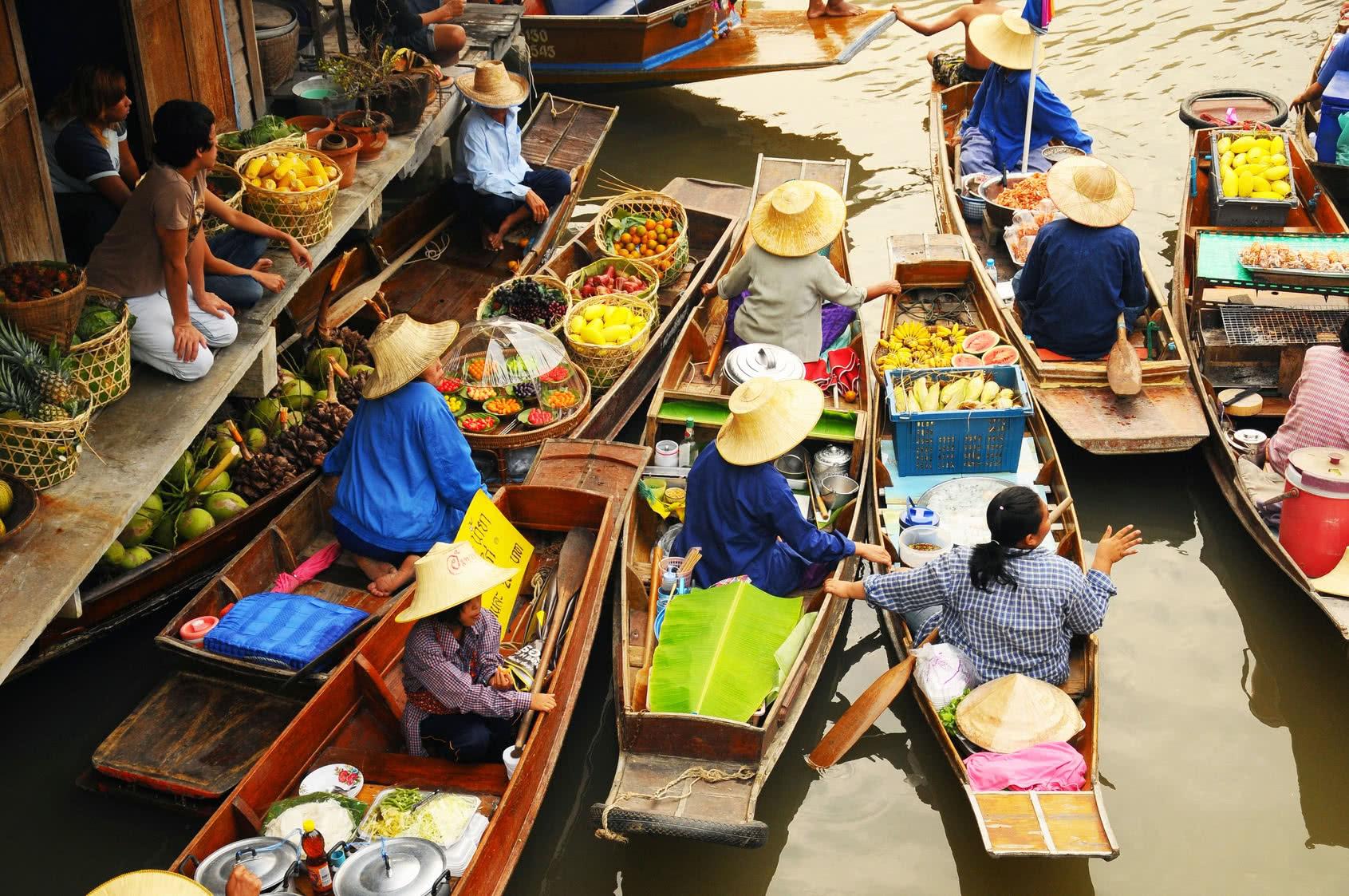 frische markt in Thailand