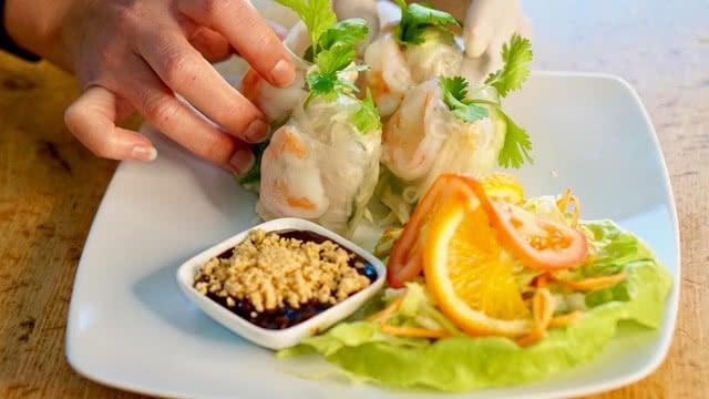 Mittagstisch im Tha Chang