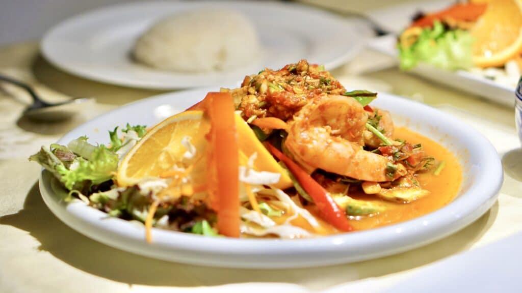 Thai Food in Tha Chang Stuttgart