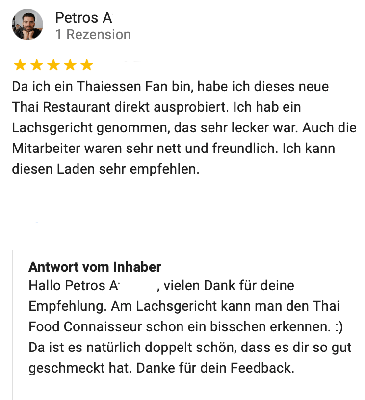Tha Chang Thai Restaurant Stuttgart Google Maps 6 Tha Chang Stuttgart Authentic Thai Food