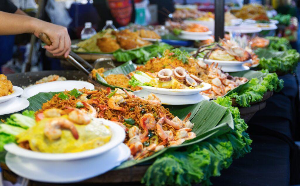 Street food in thailand Tha Chang Stuttgart