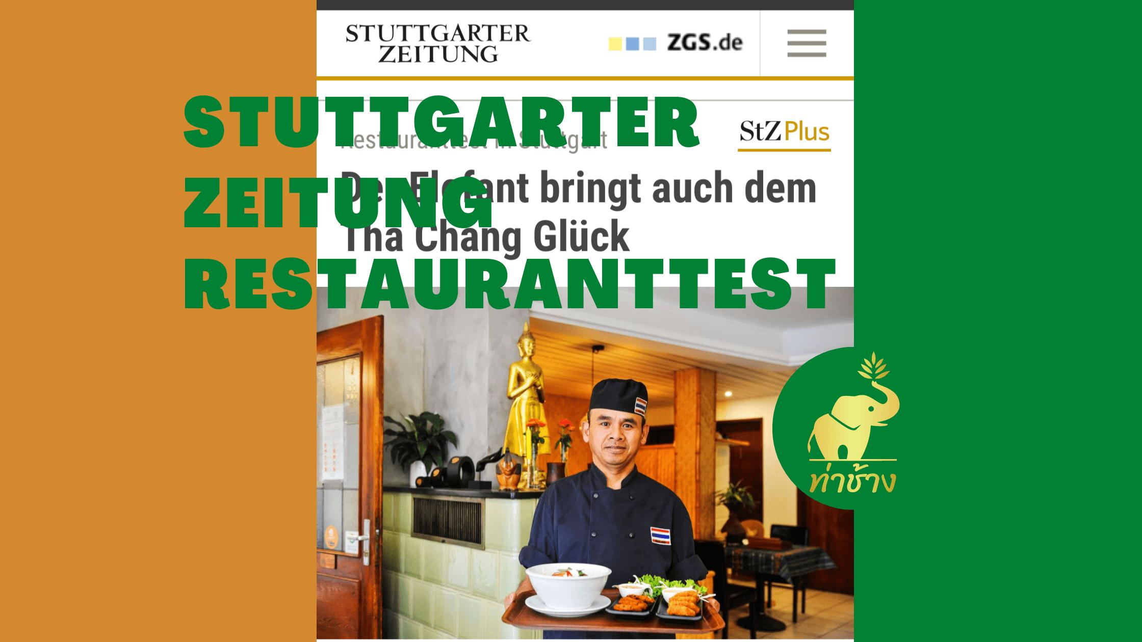 Stuttgarter Zeitung Tha Chang Restauranttest